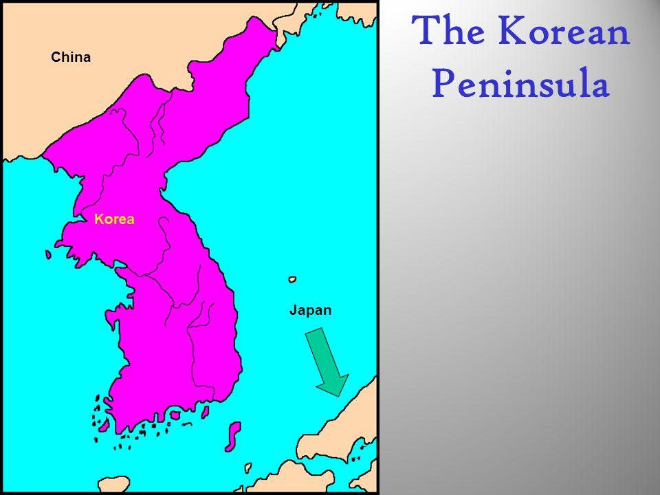 The Korean Peninsula Japan China