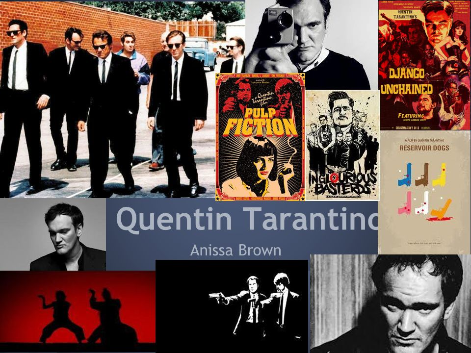 Anissa Brown Quentin Tarantino