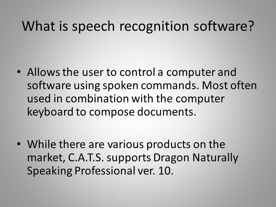 Dragon Naturally Speaking Professional ver. 10