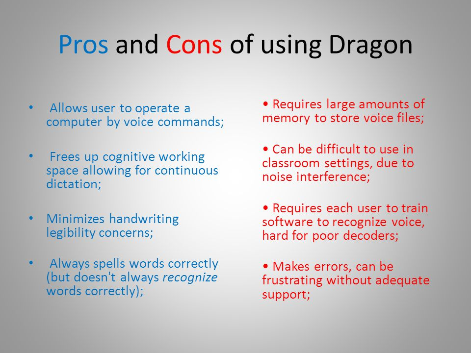 Who can benefit from Dragon Naturally Speaking.