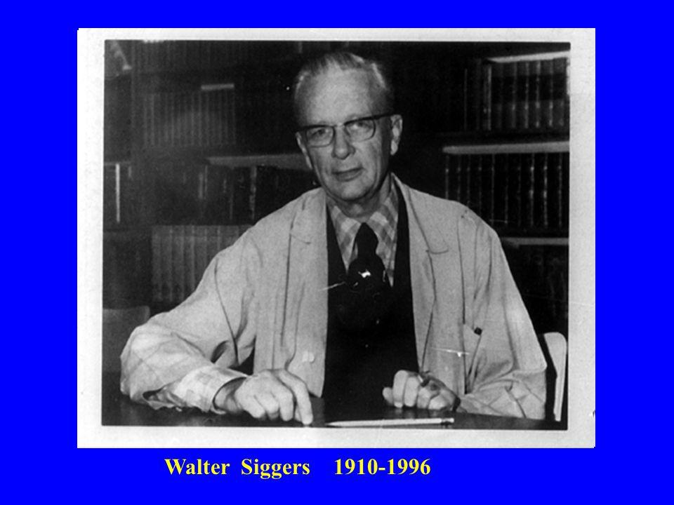 Walter Siggers 1910-1996