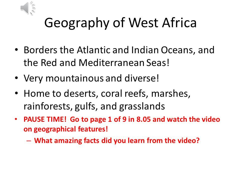 8.05 West Africa