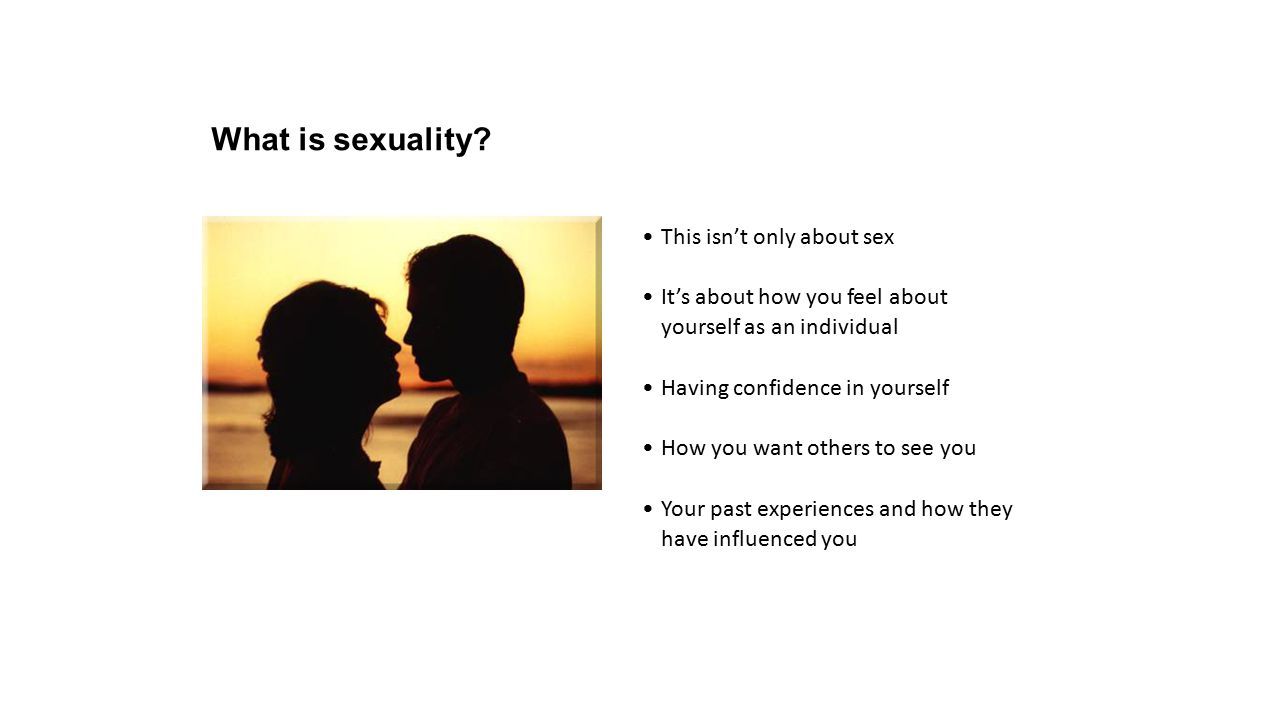 What is sexuality.