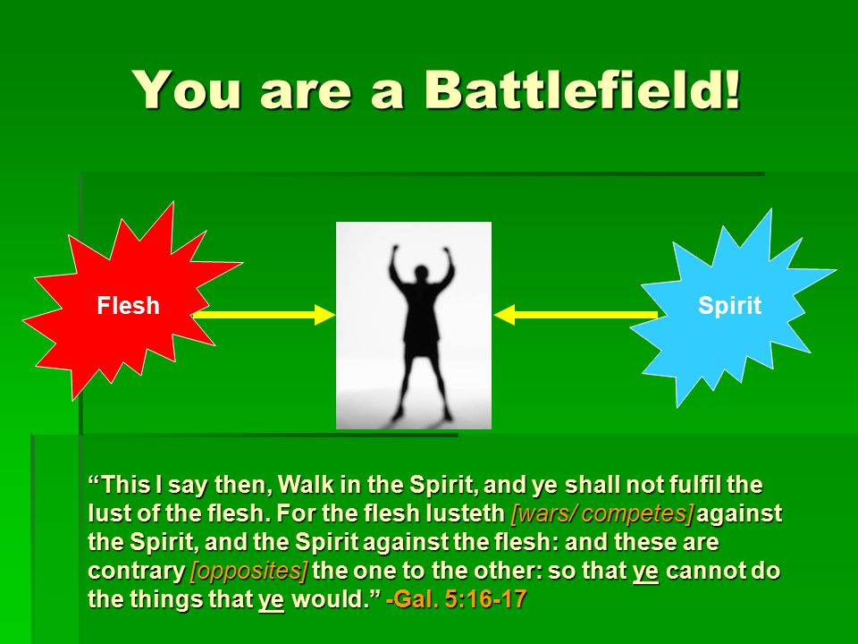 You are a Battlefield.