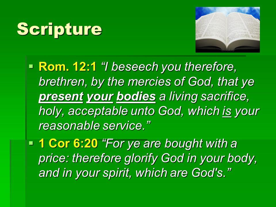 Scripture  Rom.