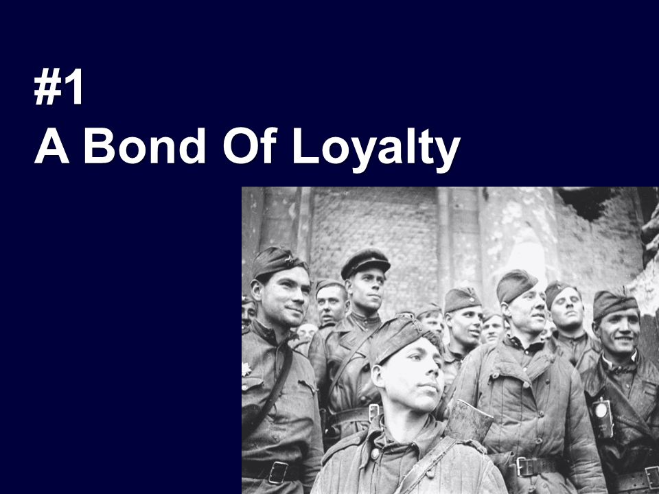 #1 A Bond Of Loyalty