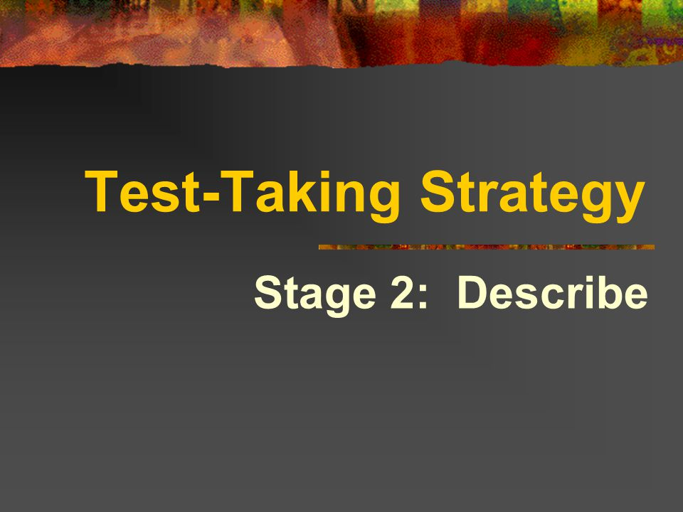 What is a strategy? A plan or method for solving a problem or completing a task.