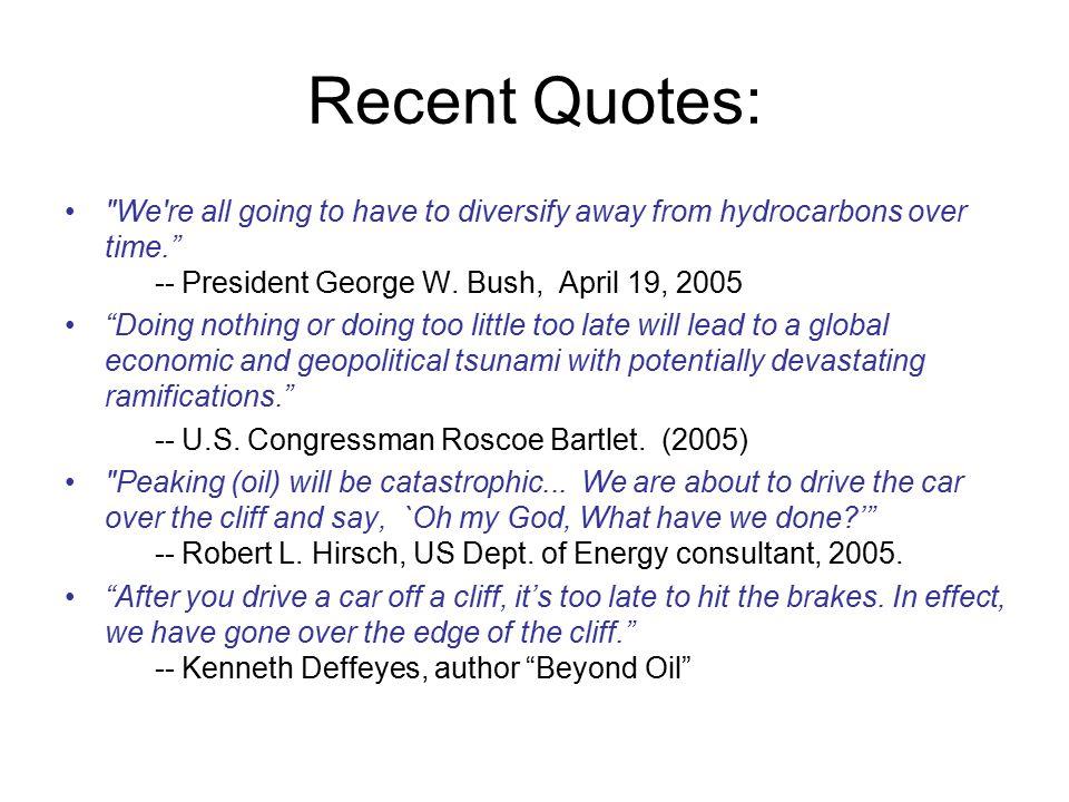Recent Quotes: