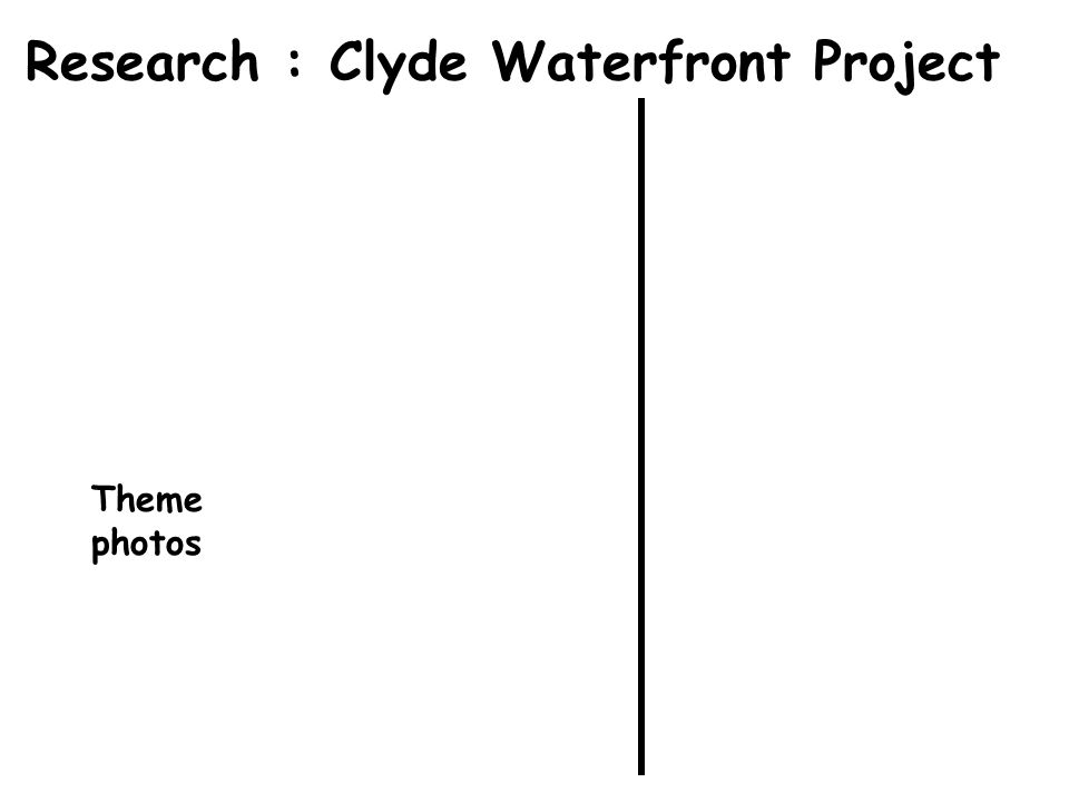 Research : Clyde Waterfront Project Theme photos