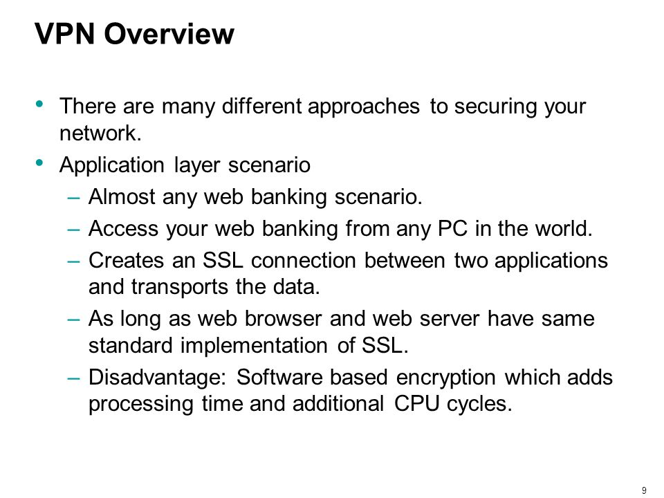20 IPSec Overview IPSec was designed to work at Layers 3 and 4.