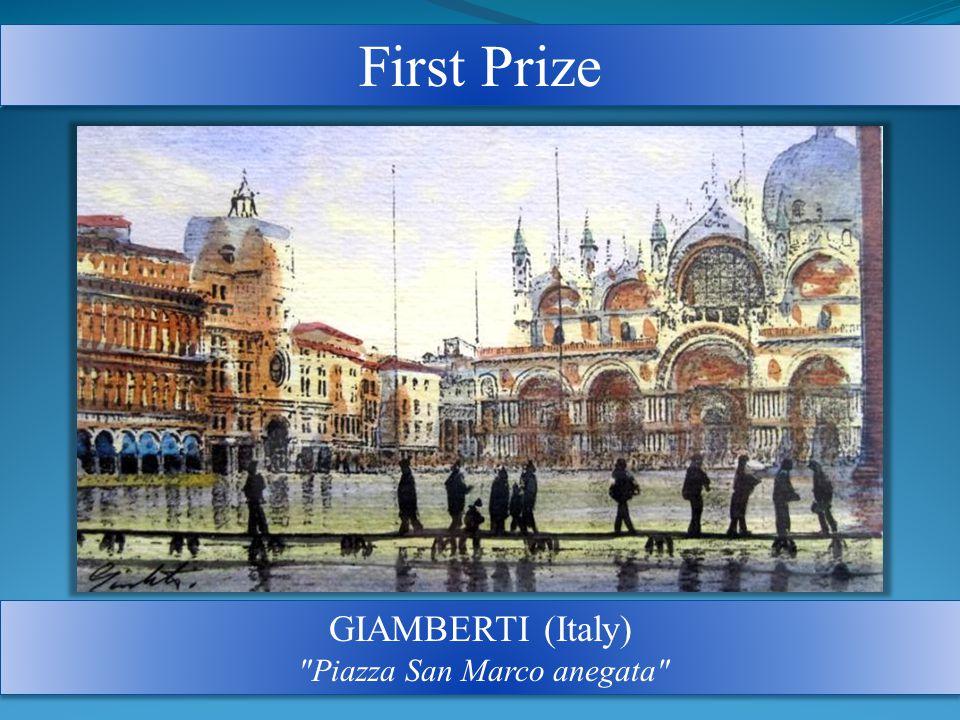 First Prize GIAMBERTI (Italy) Piazza San Marco anegata