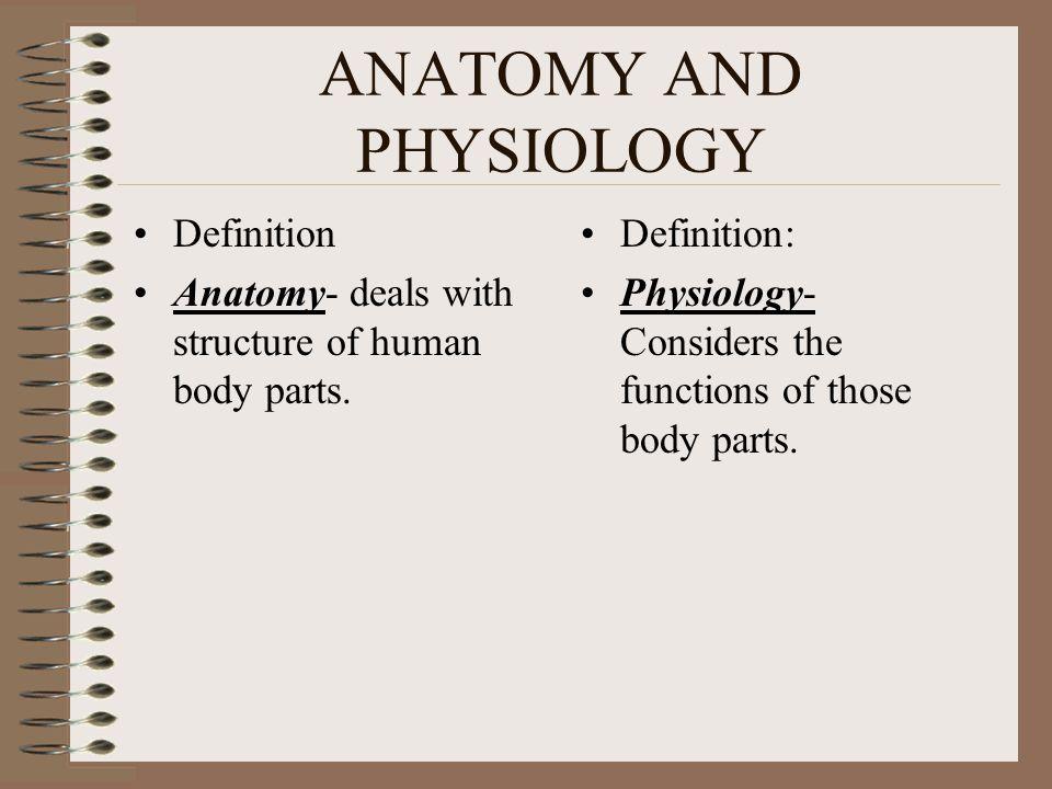 Types of Anatomy Gross Anatomy.