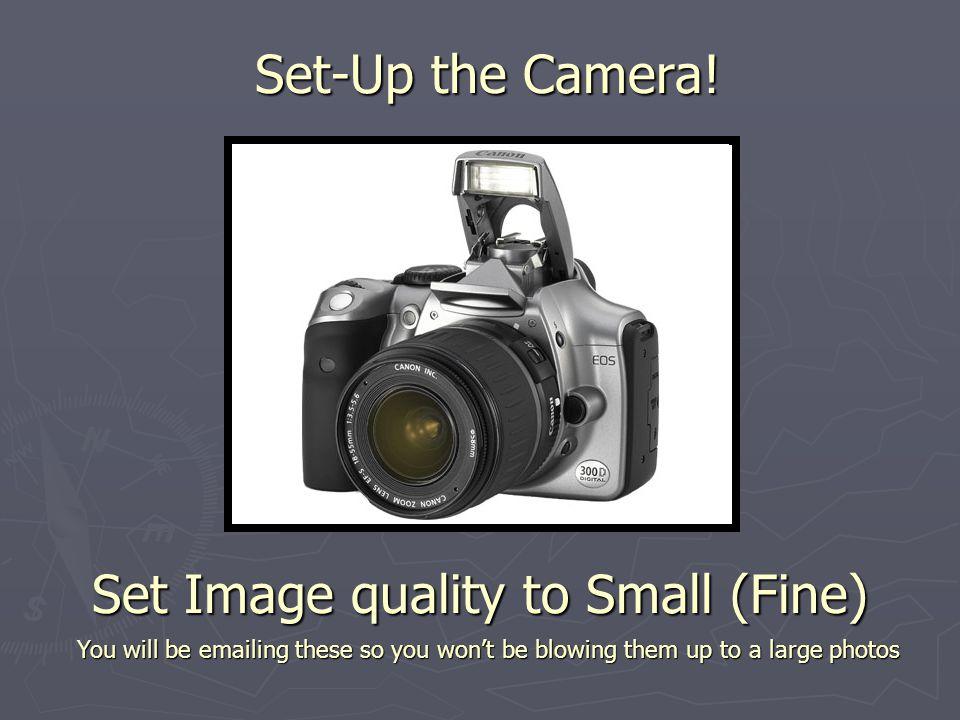 Set-Up the Camera.