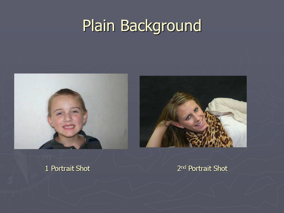 Plain Background 1 Portrait Shot 2 nd Portrait Shot