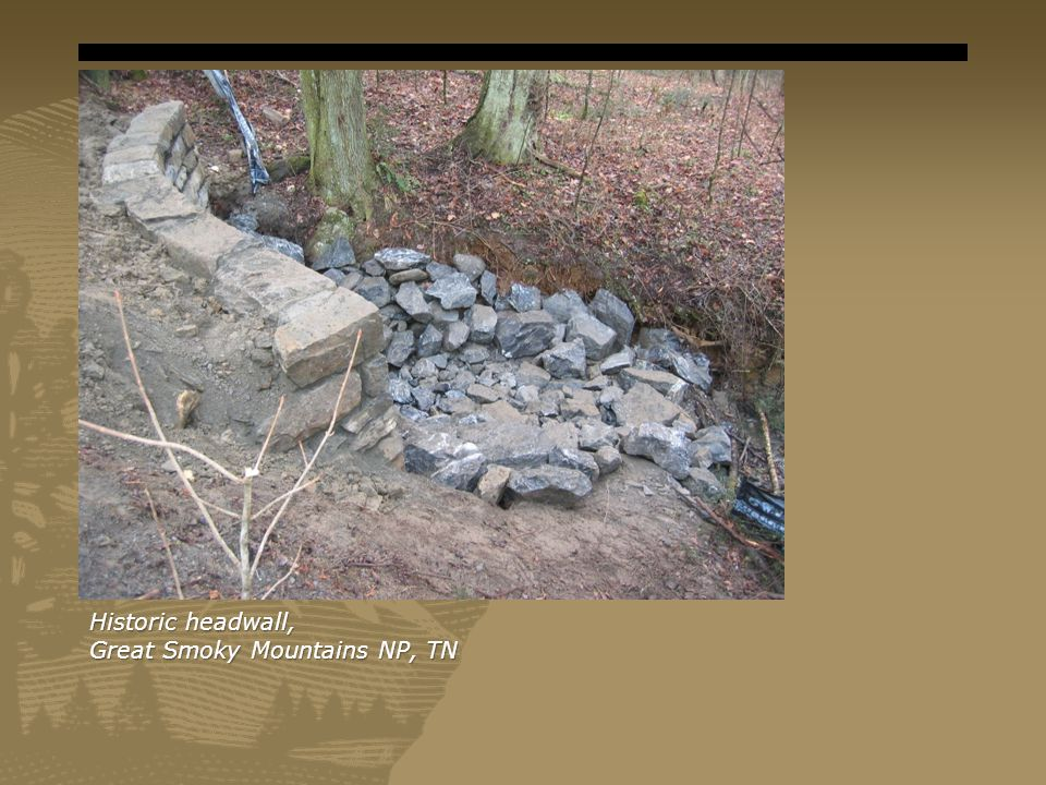 Historic headwall, Great Smoky Mountains NP, TN