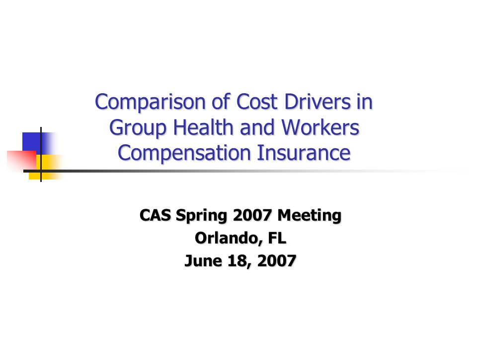 41 Cost Differences Vary by State Workers Compensation Versus Group Health Percent Low Cost Medium Cost High Cost © Copyright 2007 National Council on Compensation Insurance, Inc.