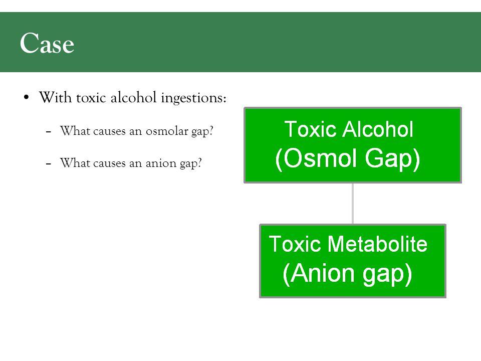Normal Osmolar Gap: Hoffman. J Toxicol Clin Toxicol. 1993 2Na + BUN + Gluc + EtOH -8 -2 +4 +10 -14