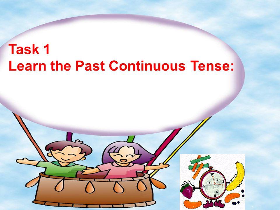 过去进行时与现在进行时的区别: 两者都表示动作正在进行,只是 时间有别。现在进行时表示现在或 现阶段正在进行的动作。过去进行时 则表示在过去的某一时间点或过去 某一阶段正在进行的动作。 如:瞧!他们在踢足球。 Look.