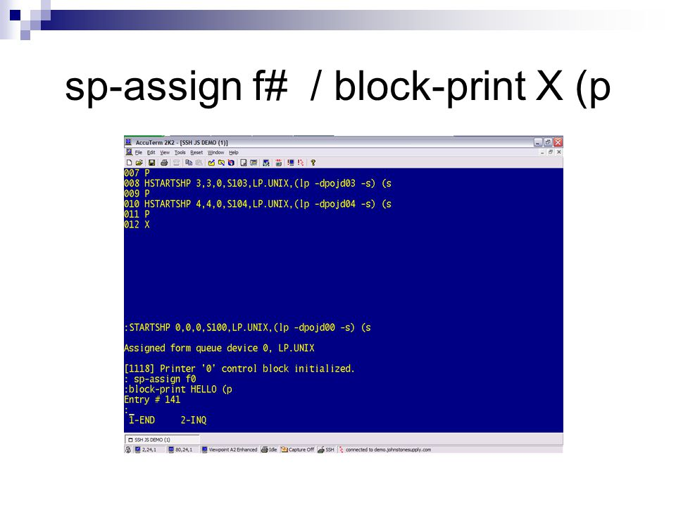 sp-assign f# / block-print X (p