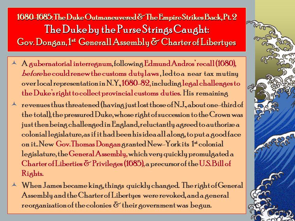1680-1685: The Duke Outmaneuvered & The Empire Strikes Back, Pt.