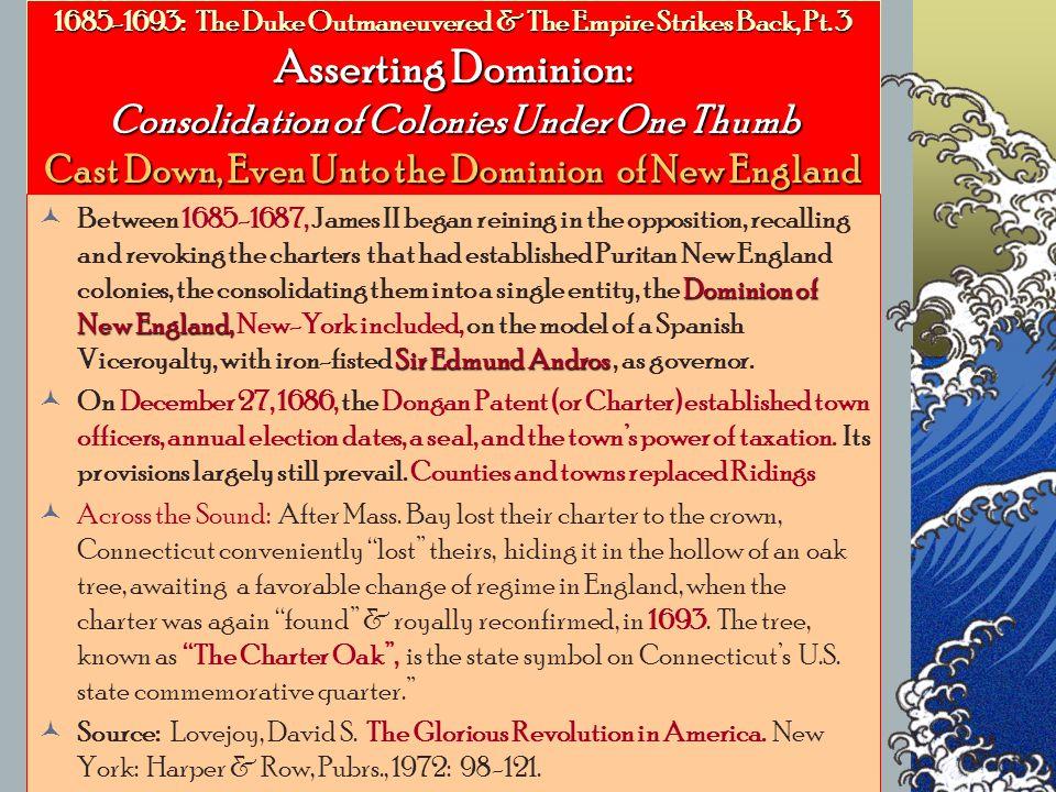 1685-1693: The Duke Outmaneuvered & The Empire Strikes Back, Pt.