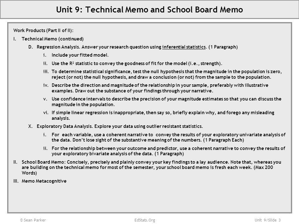 Unit 9/Slide 4 Unit 9: Road Map (VERBAL) Nationally Representative Sample of 7,800 8 th Graders Surveyed in 1988 (NELS 88).