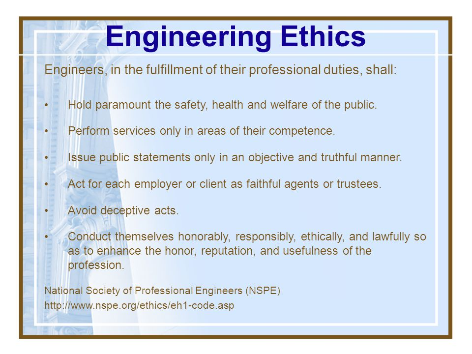 PM Ethics Preamble: Preamble: In the pursuit of the PM profession, it is vital that PMI members conduct their work in an ethical manner in order to ea