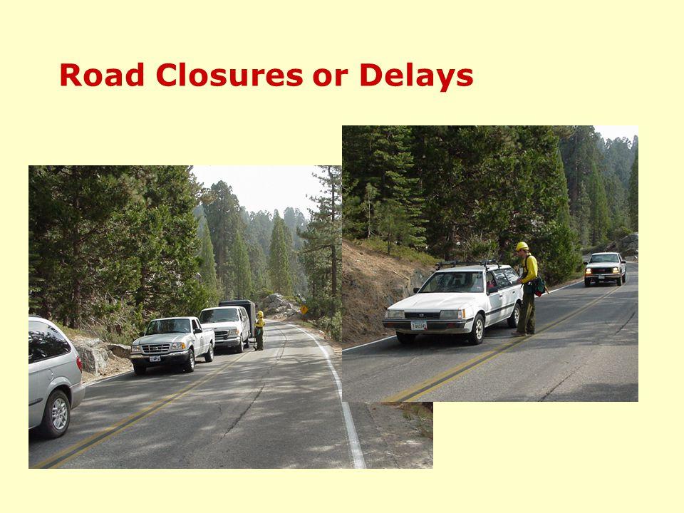 Road Closures or Delays