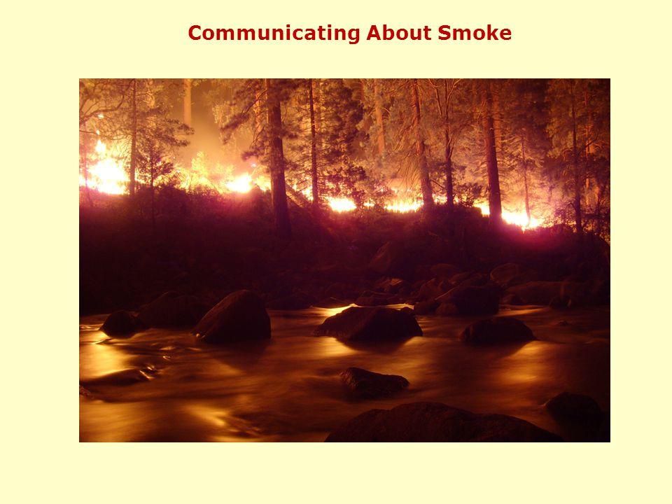 Communicating About Smoke