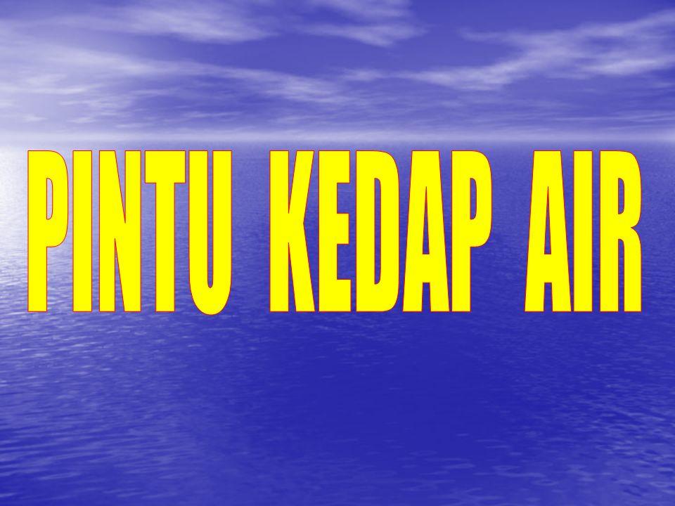 PINTU KEDAP AIR A.