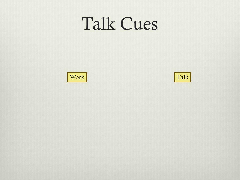 Talk Cues TalkWork