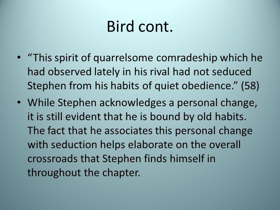 Bird cont.
