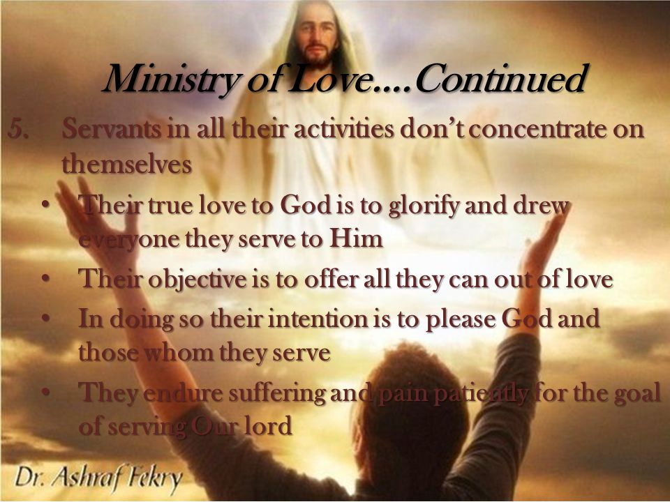 The place of God in the ministry Humility in the ministry Evaluating successful ministry