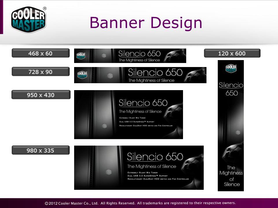 Banner Design 950 x 430 728 x 90 980 x 335 468 x 60120 x 600