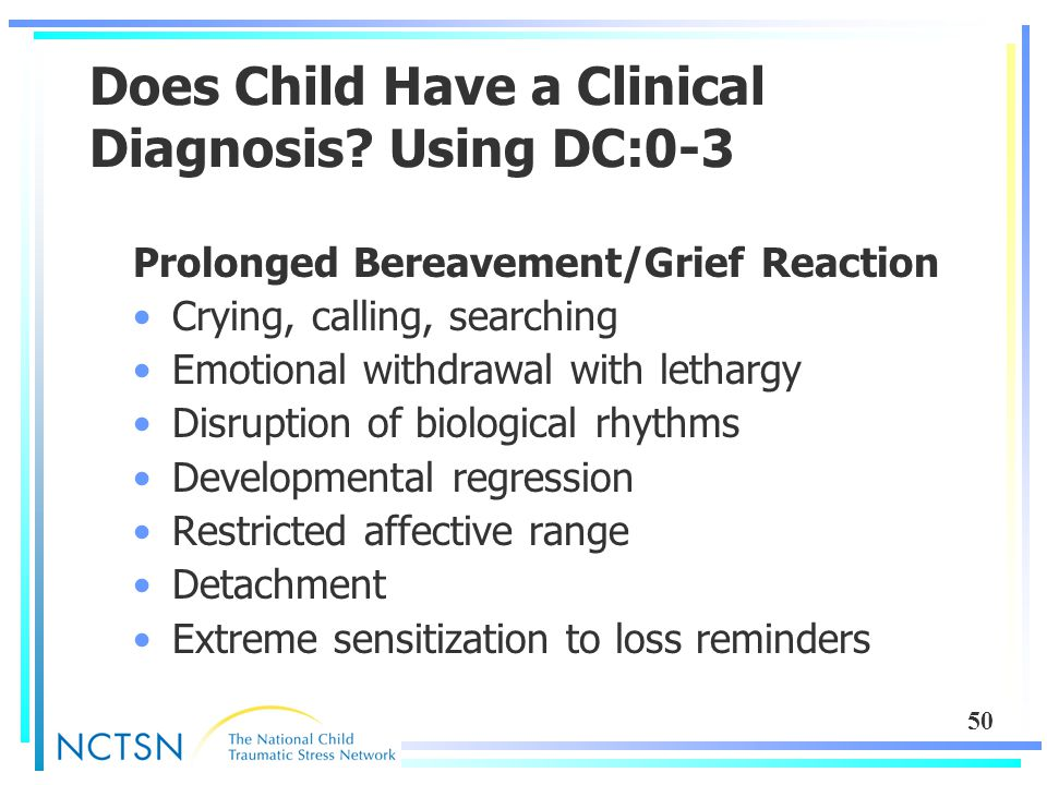 50 Does Child Have a Clinical Diagnosis.