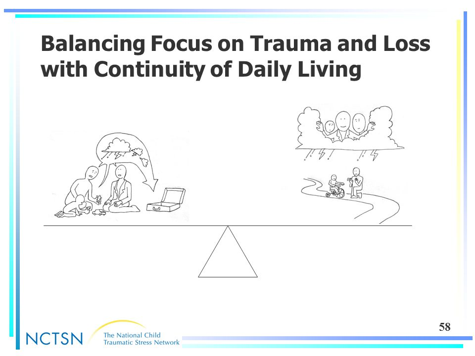 58 Balancing Focus on Trauma and Loss with Continuity of Daily Living