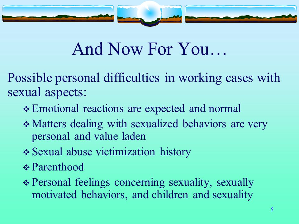 46 Non-Offending Parent/Caregiver Reactions Reactions you may see:  Denial  Anger  Bargaining  Depression  Resolution  BUT- Change and movement between the reactions can happen and will!