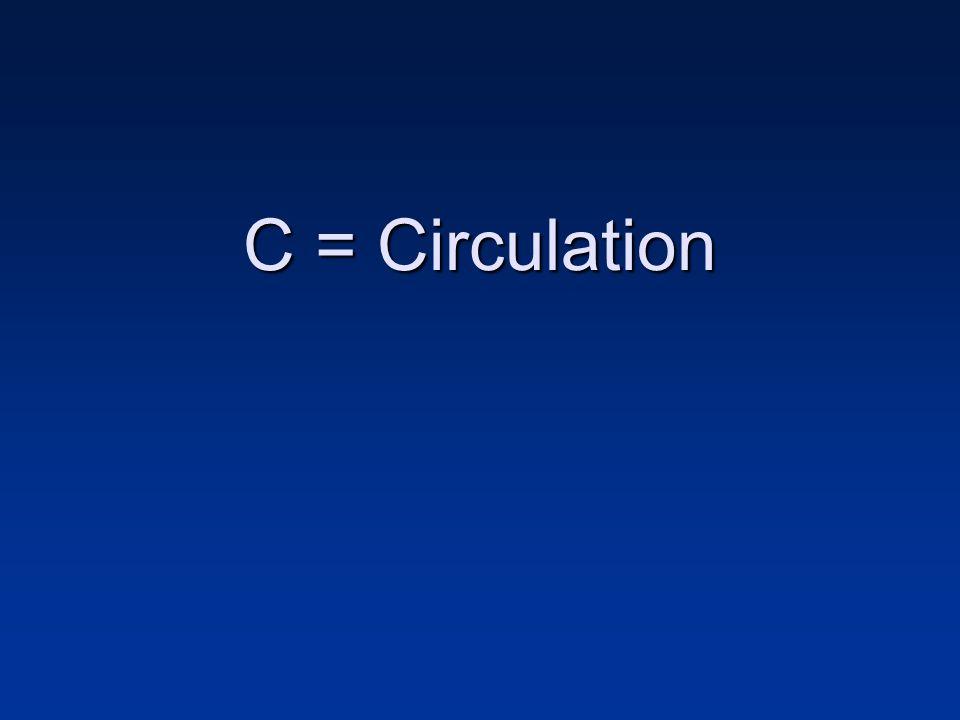 C = Circulation