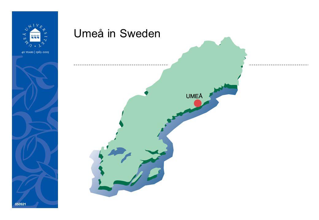 050921 Umeå in Sweden