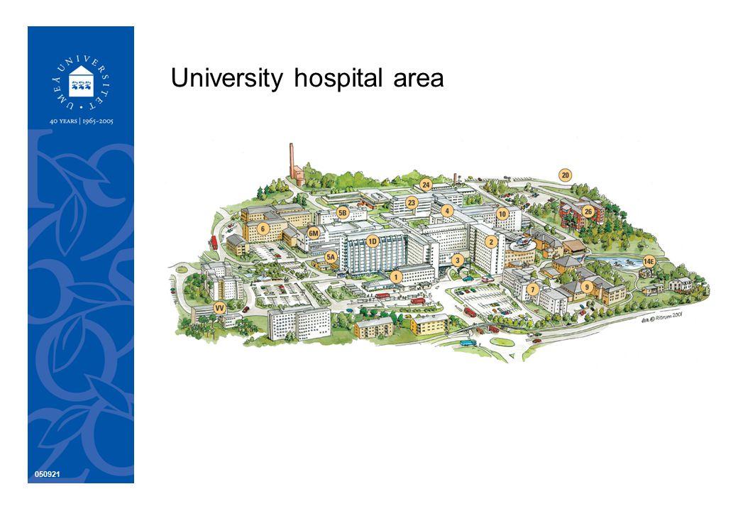 050921 University hospital area