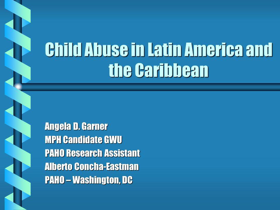 Corporal Punishment b Survey in Chile among parents whose children attend public and private schools (Vargas et al.).