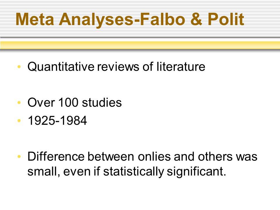 Secondary Analyses Multilevel analysis.