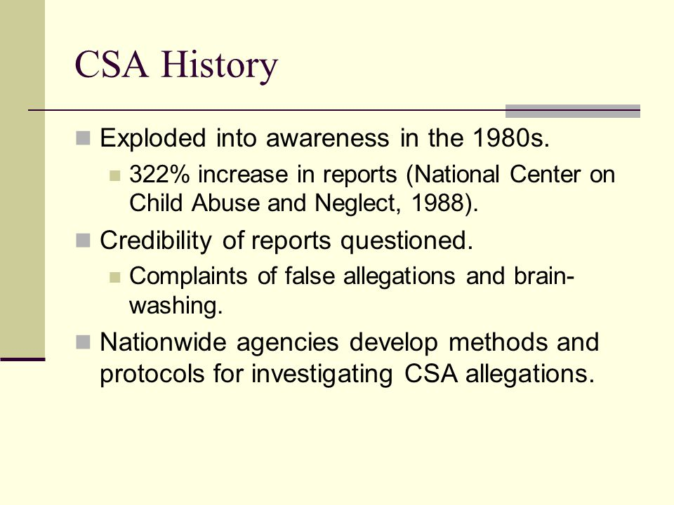 Reporting Contact local Child Protective Services and/or law enforcement (911) Sexual Trafficking – FBI involvement Check jurisdiction for mandated reporting to protective services.