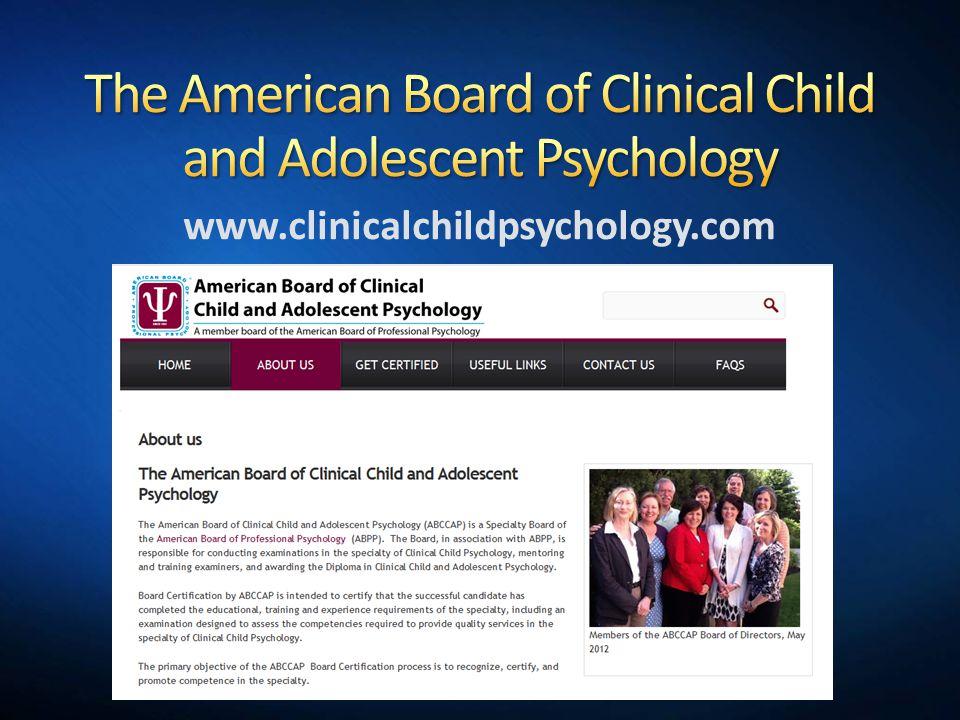 www.clinicalchildpsychology.com