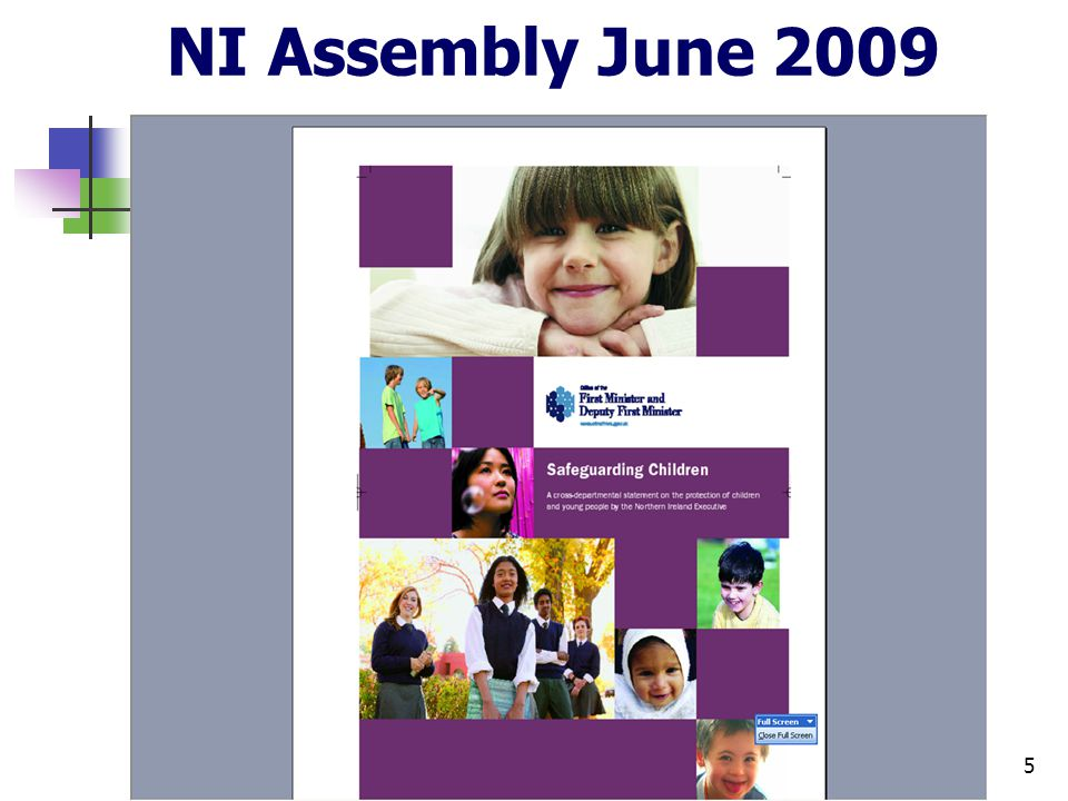 5 NI Assembly June 2009