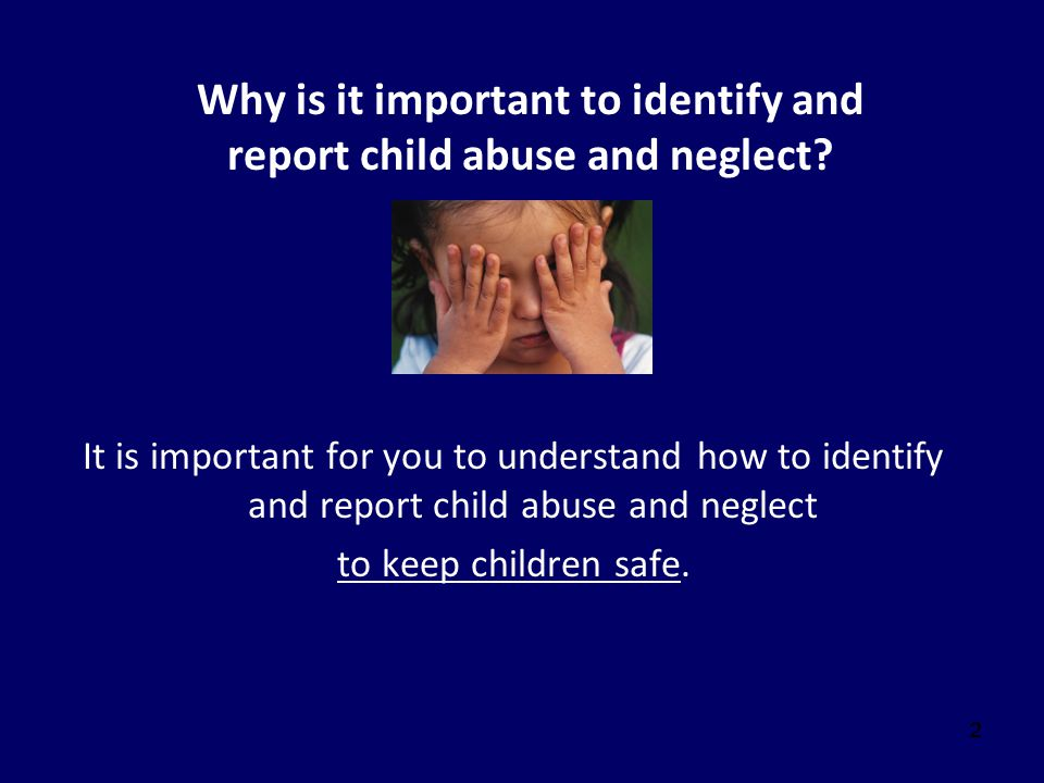 13 Child Indicators of Physical Abuse Physical IndicatorsBehavioral Indicators Human bite marks Bald spots Unexplained burns Rope burns on arms, legs, neck or torso Unexplained fractures Unexplained lacerations or abrasions Wary of adult contact Apprehensive when other children cry Behavioral extremes: Aggressiveness or Withdrawal Overly compliant Afraid to go home Reports injury by parents Exhibits anxiety about normal behavior (i.e.