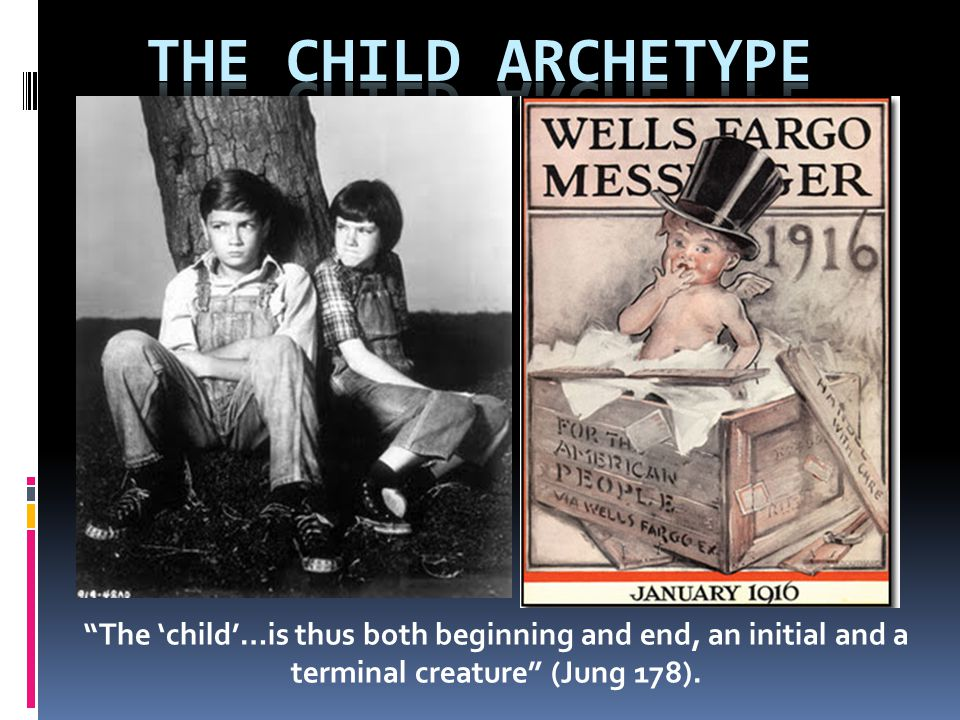 The Child Archetype  'A child is born to us.' Christmas is the celebration of Jesus as infant and divinity entering the human arena.