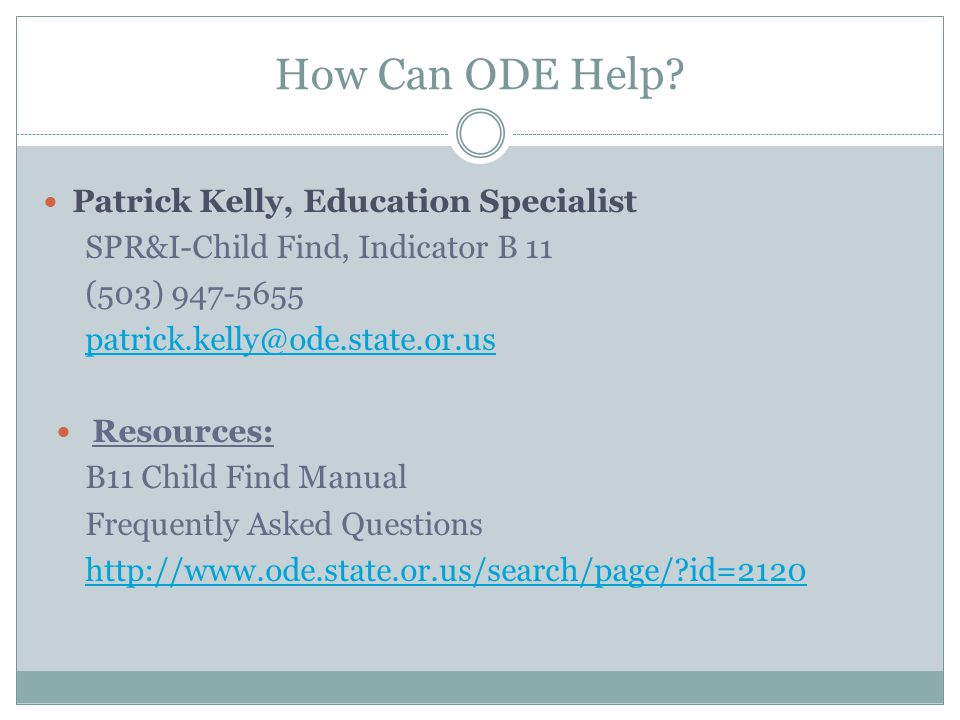 How Can ODE Help.