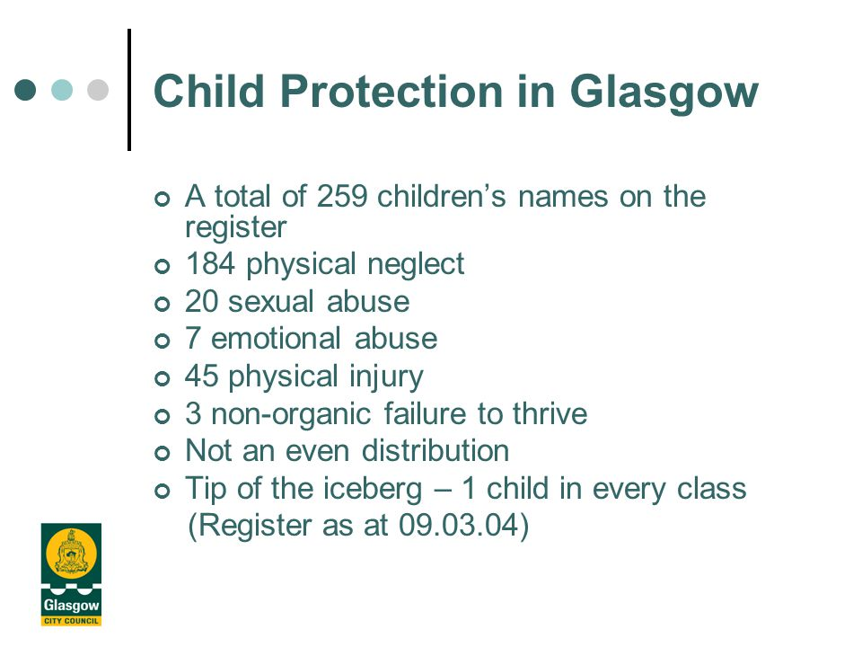 Child Abuse Some Facts about Child Abuse In the UK one child dies every week as a result of child abuse More than 35,000 children are at risk and require protection from professionals At least 110,000 adults have been convicted of sexual offences against children (NSPCC 2001)