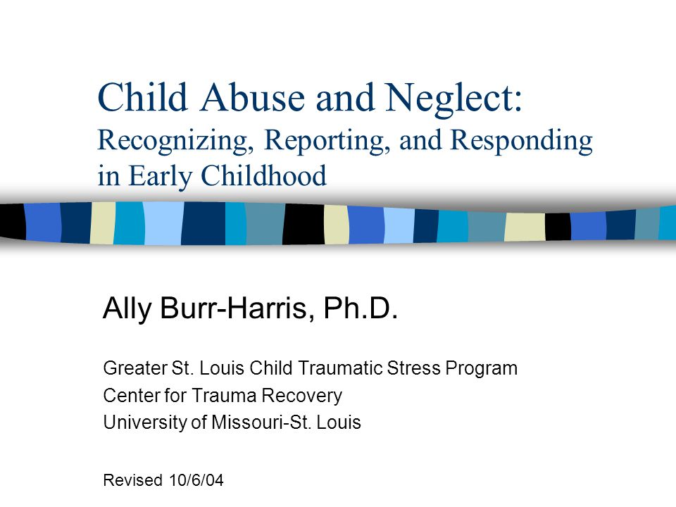 Helping Non-Offending Parents of Abused/Neglected Children Model soothing behaviors with younger children Assist in developing plan for behavior mgmt.